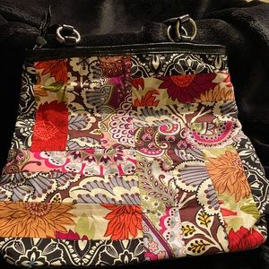 Vera Bradley large quilted tote